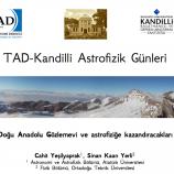 TAD-Kandilli Astrofizik Günleri – 2