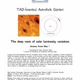 TAD-İstanbul Astrofizik Günleri – 1