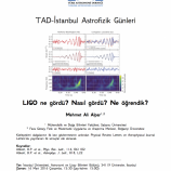 LIGO Ne Gördü? Nasıl Gördü? Ne Öğrendik?