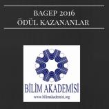 Bilim Akademisi – BAGEP 2016 Ödülleri Açıklandı