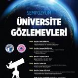 Sempozyum: Üniversite Gözlemevleri