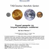 Kayasal Gezegenler için Kimyasal Kompozisyon Modellemesi