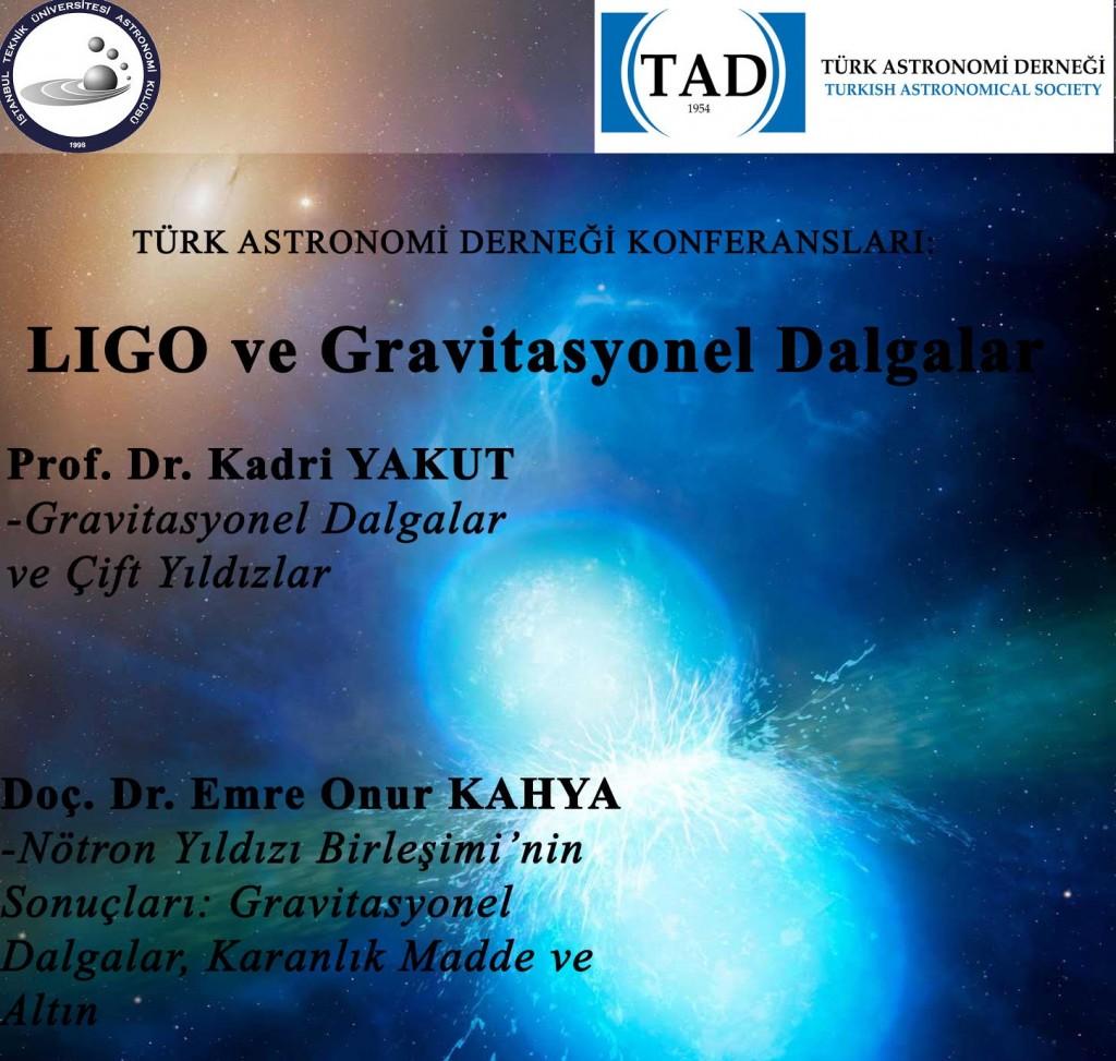 TAD Konferansları Başlıyor