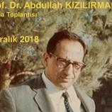 Abdullah Kızılırmak'ı Anma Toplantısı / 4 Aralık 2018
