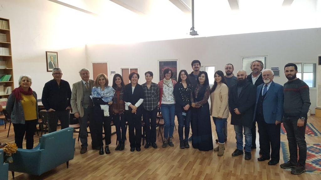 TAD Başkanı Prof. Dr. İbrahim Küçük Ege Üniversitesini Ziyaret Etti