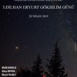 3. Dilhan Eryurt Gökbilim Günü