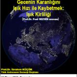 Gecenin Karanlığını Işık Hızı ile Kaybetmek: Işık Kirliliği