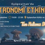 Eyüpsultan'da Astronomi Etkinliği