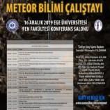 III. Asteroit Madenciliği ve Meteor Bilimi Çalıştayı