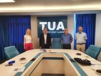 TAD Yönetim Kurulu Türkiye Uzay Ajansı'nı Ziyaret Etti